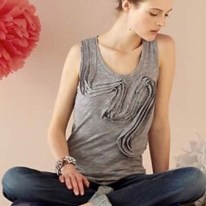 Anthropologie Winding Road Tank Top Size L